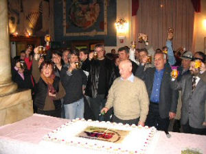 The party for the 108th birthday of the factory