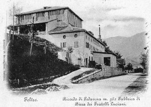 The first building of the brewery